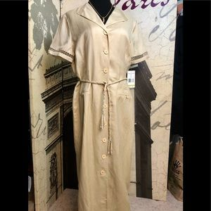 NWT beautiful linnen dress by Positive Attitude